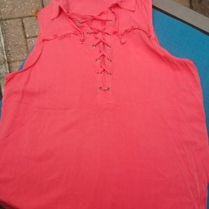 Rock and republic sleeveless blouse